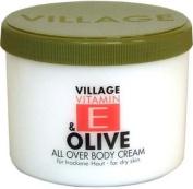 Village 9506-14 Olive Body Cream with vitamin E 500 ml