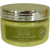 Greenscape Organic OLIVE Natural All Over Body Moisturiser 250ml