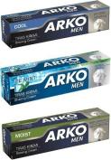 Arko Shaving Cream Combo 3pack-Arko Ice MInt,Arko Moist,Arko Cool