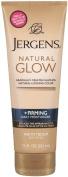 Jergens Natural Glow Firming Moisturiser for Fair to Medium Skin Tones 222 ml Moisturiser
