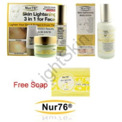 Nur76 Advanced 3in1 + Body Lotion + FREE Nur76 Soap : Skin Lightening