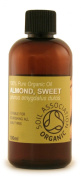 100ml Organic Sweet Almond Oil - 100% Pure Cold Pressed Carrier Oil