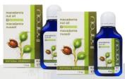 Macadamia Oil + Natural Antioxidant For Skin & Hair - 2 x 30ml