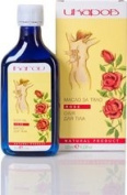 Ikarov Body Oil Rose - (2-pack) - For Massage To Help Lift Low Mood & Ease Tension, Stress, Anxiety & Fatigue - 100% Pure & Natural - 2 x 125ml