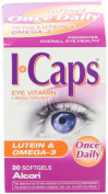 Icaps Icaps Lutein And Omega-3 Eye Vitamin And Mineral Supplement, 30 Softgels
