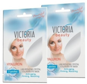 Crystal-Collagen Eye Masks (2-pack) to Reduce Wrinkles, Bags & Dark Circles -