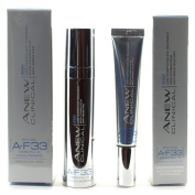 Avon Anew Clinical PRO Line Corrector Treatment 30ml & Eye Corrector Treatment 15 ml with A-F33 Amino-Fill 33
