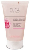 Elea Washing Cream-Gel Rose with Rosa Damascena Floral Water for Dry and Sensitive Skin 150 ml