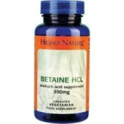 Higher Nature Betaine Hcl 90 capsule - CLF-HN-BET090