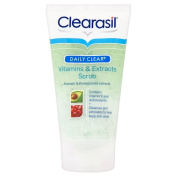 Clearasil Daily Clear Vitamins and Extracts Scrub 150ml