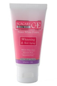 Scacare Nano White C & E Brightening Whitening & Anti-Ageing Facial Foam 100G Amazing Of Thailand