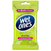 WET ONES TRAVEL BE ZINGY 12