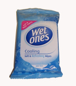 Wet Ones Soft & Refreshing Wipes Cooling 12 wipes