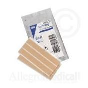 3M Steri-Strip Elastic Skin Closures - 1.3cm x 10cm - 6 strip envelope - Box of 50