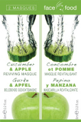 Face Food Cucumber and Apple Masques