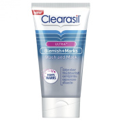 Clearasil Ultra Blemish Plus Marks Wash and Mask 150ml