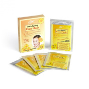 "5 + 5 FREE Beauty Face Masks with Chamomile, Witch Hazel and Herbal Extracts ""A Spa Like Facial at Home"" Hypoallergenic, Not Tested on Animals"