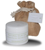 Mens deep pore cleansing facial mask & gift jute bag with tag