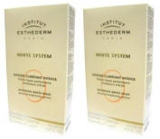 2x Institut Esthederm White System Intensive Masks