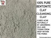 1kg | 100% PURE BENTONITE CLAY POWDER CLEANSING HEALING CLAY NATURAL DETOX NATURAL FACE MASK