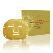 "Jamela-Luxury 24k Gold Sheet Face Mask (5 mask pack) As seen on Celebrity Big Brother & Towie. ""The Ultimate Facial"" says The Daily Express"