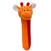 Giraffe Squeakaboo Squeaker and Rattle Toy