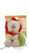 Safari Friends Teether/Rattle Cream