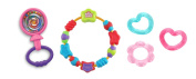 Baby Girl Teethers & Rattle 3 Pack