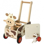 Walk & Ride cow push waggon