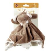 Elli & Raff Elephant Soft Plush Baby Comfort Blanket 0+