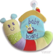 Little Bird Told Me - Softly Snail - Baby On Board Sign