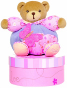 Kaloo Lilirose Chubby Bear with Butterfly