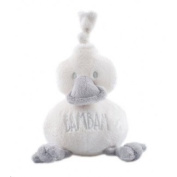 BamBam baby gifts - super soft duck cuddle grey - 81552