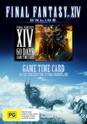 Final Fantasy 14 A Realm Reborn 60 Day Timecard