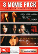 A Perfect Murder  / A Time to Kill / Murder by Numbers [Region 4]