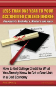 Less Than One Year to Your College Degree