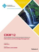 Cikm12 Proceedings of the 21st ACM International Conference on Information and Knowledge Management V2