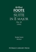Suite in E Major, Op. 63