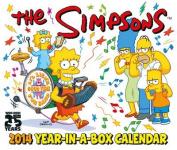 Official The Simpsons Desk Block 2014 Calendar
