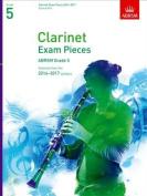 Clarinet Exam Pieces 20142017, Grade 5, Score & Part