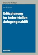 Erlosplanung Im Industriellen Anlagengeschaft  [GER]
