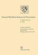 Zur Entstehung, Authentizitat Und Kritik Von Brunings Memoiren 1918-1934 [GER]