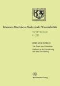 Von Platon Zum Platonismus Ein Bruch in Der Uberlieferung Und Seine Uberwindung [GER]