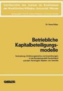 Betriebliche Kapitalbeteiligungsmodelle [GER]