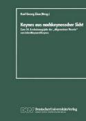 Keynes Aus Nachkeynesscher Sicht [GER]