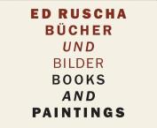 Ed Ruscha: Books and Paintings