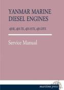 Yanmar Marine Diesel Engines 4jhe, 4jh-Te, 4jh-Hte, 4jh-Dte [GER]