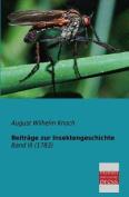 Beitrage Zur Insektengeschichte