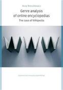 Genre Analysis of Online Encyclopedias
