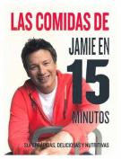 Las Comidas de Jamie Oliver En 15 Minutos  [Spanish]
